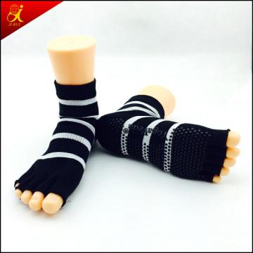 Dedo del pie abierto Yoga calcetines de alta calidad
