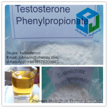 99% de alta pureza Testosterone Phenylpropionate 1255-49-8 Body Building
