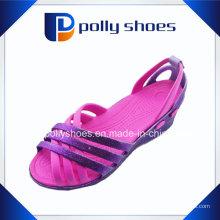Design Damen Sandalen Kunststoff Sandalen Großhandel