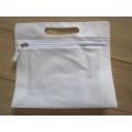 Sac en papier PVC avec fermeture à glissière (hbpv-62)