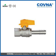 Conector macho / mangueira com alça de alumínio válvula de gás lpg