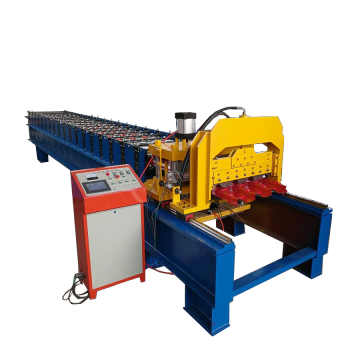 Cheap for Antique Glazed Tile Roll Forming Machine High Speed Step Tile Roof Roll Forming Machinery export to Israel Importers