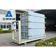 Nueva tecnología línea de producción de máquinas para techos / casas prefabricadas