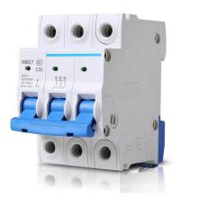 3p mini circuit breaker 63A 40A 25A 2P electrica circuit breaker switch