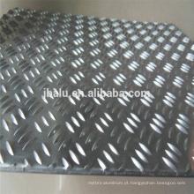 Melhor preço com folha de alumínio em relevo de alta qualidade