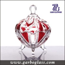 Small Glass Candy Jar for Wedding (GB1804V-1/P)