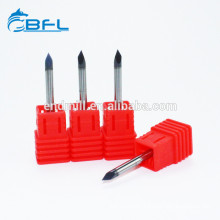 BFL Engraving Cutter Solid Carbide 3 Face Router V Bits For Wood