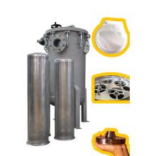 Caja del filtro multi-bolsa con sistema de cierre de perno
