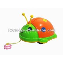 Puxar linha animal beetle brinquedo