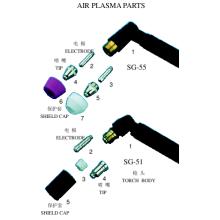 Pièces Air Plasma (Taiwan Type)