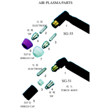 Air Plasma Parts (Taiwan Type)
