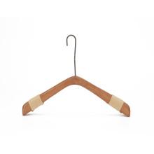 luxury creative wooden display heavy wedding dress hangers custom logo