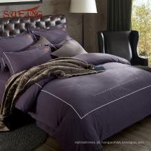 2018 folha de cama de casamento ultra violeta mais popular da fábrica original Gold Sufang
