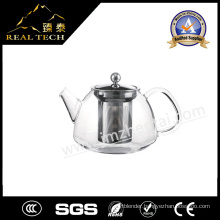 Hot Sale Good Quality Glass & Stainless Steel Teapot