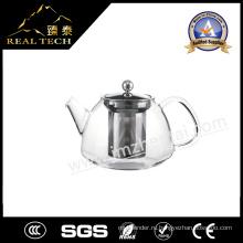 Горячее сбывание хорошее качество Стекло и нержавеющая сталь чайник