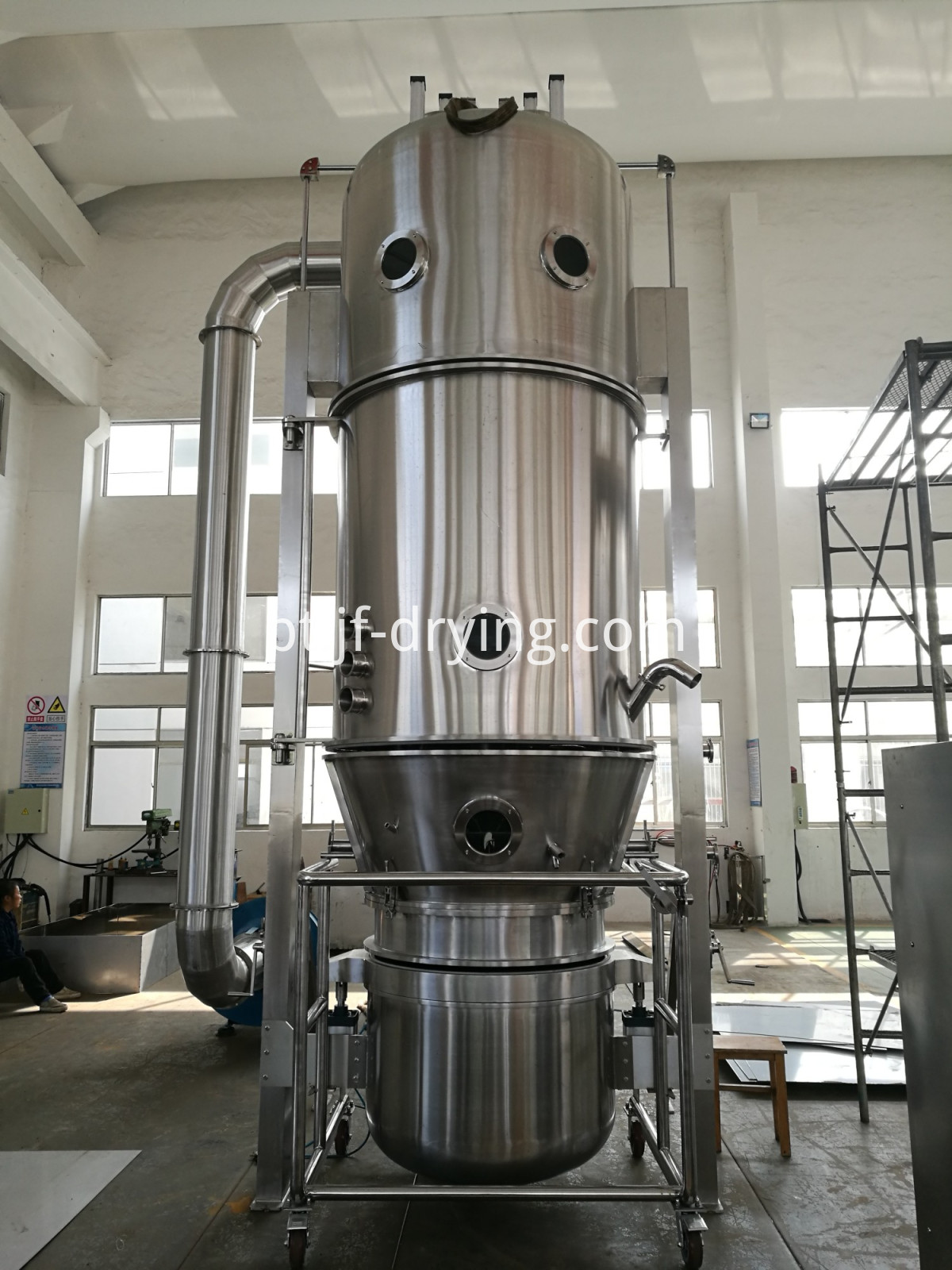 2018 Fluid bed dryer (1)