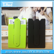 Lazy stick-phone holder stand with color printing