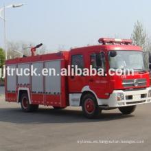 Vehículo chino del fuego de la agua-espuma del fuego, proveedor del camión de bomberos de Dongfeng para el camión del motor de bomberos de Dongfeng