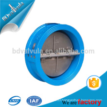 ductile iron Dual Plate wafer butterfly check valve factory