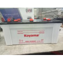 Bateria automotiva de carga seca 12V 200ah para caminhão resistente