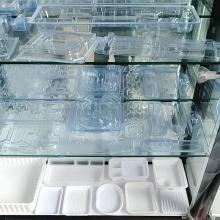 thermoformage de gobelet en plastique transparent transparent jetable