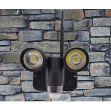 Meilleur WIFI cctv pir alarme cachée vidéo Cam led lumières caméras de surveillance