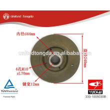 YUCHAI engine YC6105 crankshaft pulley 330-1005030B