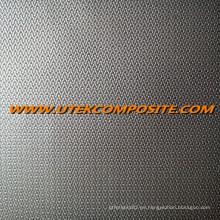 Tejido de fibra de vidrio de revestimiento de una sola cara para manta ignífuga