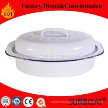 Sunboat Enamel Roaster Chicken Roaster Pan Kitchenware/ Kitchen Appliance