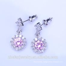 24k saudi jewelry 18k stud earrings design jewelry
