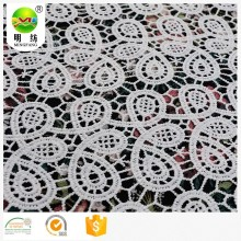 chemical lace embroidery fabric with hole