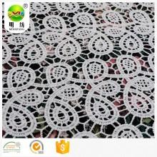 химическая кружевная вышивка ткани с отверстием
