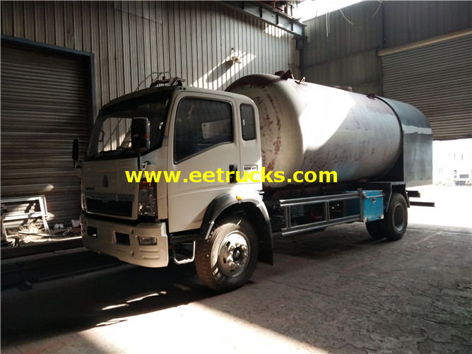 10000l LPG Dispenser Tank Trucks