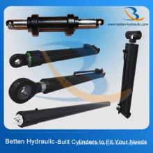 Melhor cilindro hidráulico chinês Fabricante Cilindro de pistão hidráulico para escavadeira / empilhadeira / caminhão basculante