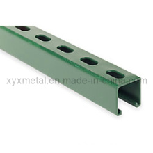 Painted Powder Coating C Shape Steel Profile Channel Section