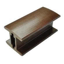 Высококачественный деревянный пластмассовый композитный поручень подлокотника 89 * 87