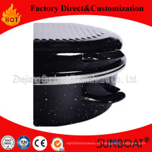 Sunboat L 'Heavy Oval Röster mit Edelstahlkante Küchengerät / Küchengerät