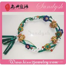Green Waist Chain Set Chain Tassel Necklace