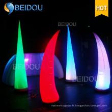 Décoration Décoration gonflable LED Colonne Arch Tube Cones Ivory Tusk