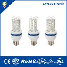 Aqueça a lâmpada de poupança de energia branca do diodo emissor de luz E27 5W