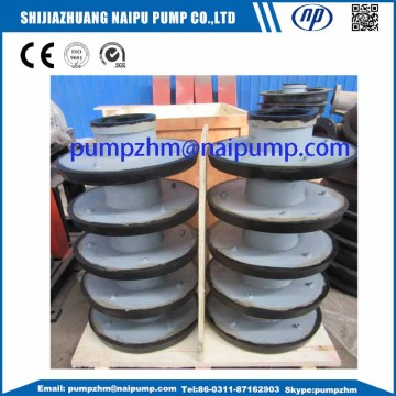 8 / 6E-AHR rubber slurry pump throat bushing