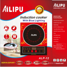 Ailipu 2200W Cocina de inducción de venta caliente con modelo de voz Alp-12