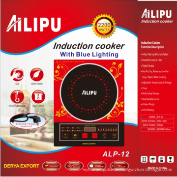 Ailipu 2200W Hot Selling Induction Cooker with Voice Model Alp-12