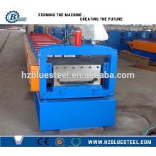 Hot Sale Bonne qualité PLC Industrial Self Lock Galvanized Roofing Sheet Making Machine à vendre