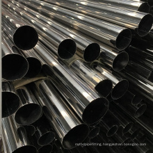 Custom High Quality 201 304 304L 316 316L SS Round Pipe/ Tube ERW Welding Line Type Stainless Steel Tubing Prices