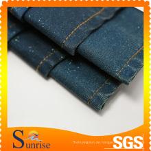 Baumwolle Polyester Spandex Denim Stoff SRS-120267-D5