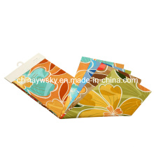 Factory Price of Brushed Microfiber Big Flowers Designs Pigment Printing