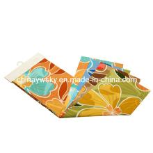 Factory Price of Brushed Microfiber Big Flowers Designs Pigment Printing