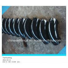 Construction ASTM Soudage Raccords de tuyaux en acier au carbone Coude