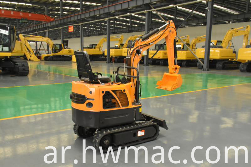 Mini excavator machine